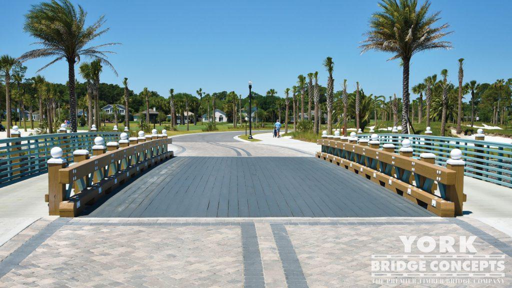 Atlantic Beach Country Club Vehicular Bridge - Jacksonville, FL | York Bridge Concepts - Timber Bridge Builders