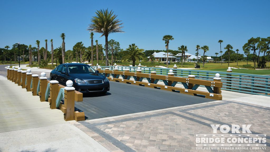 Atlantic Beach Country Club Vehicular Bridge - Jacksonville, FL | York Bridge Concepts - Timber Bridge Builders
