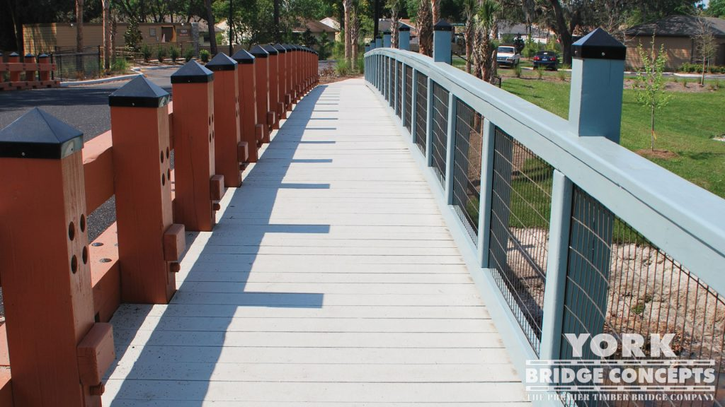 Brookhaven at Citrus Park Vehicular Bridges – Tampa, FL | York Bridge Concepts - Timber Bridge Builders