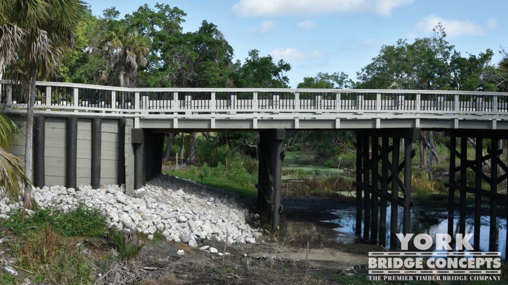 Esplanade by Siesta Key Vehicular Bridge - Sarasota, FL | York Bridge Concepts - Timber Bridge Builders