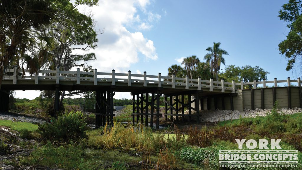 Esplanade by Siesta Key Timber Vehicular Bridge - Sarasota, FL | York Bridge Concepts - Timber Bridge Builders