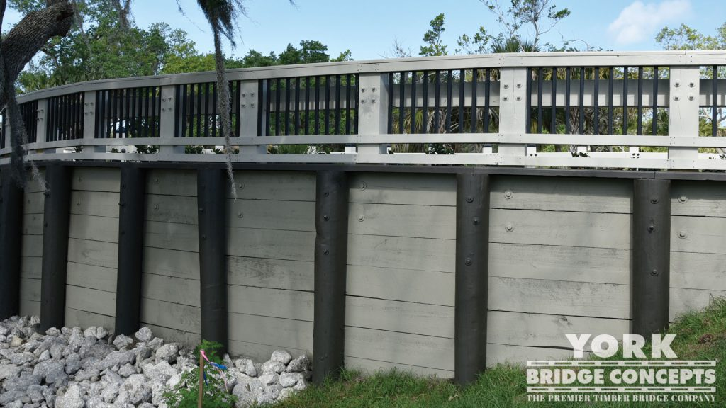 Esplanade by Siesta Key Vehicular Bridge - Sarasota, FL | York Bridge Concepts - Timber Bridge Builders