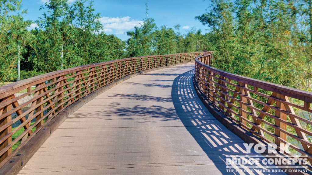 Trump Doral Golf Club Golf Cart Bridge – Doral, FL | York Bridge Concepts - Timber Bridge Builders