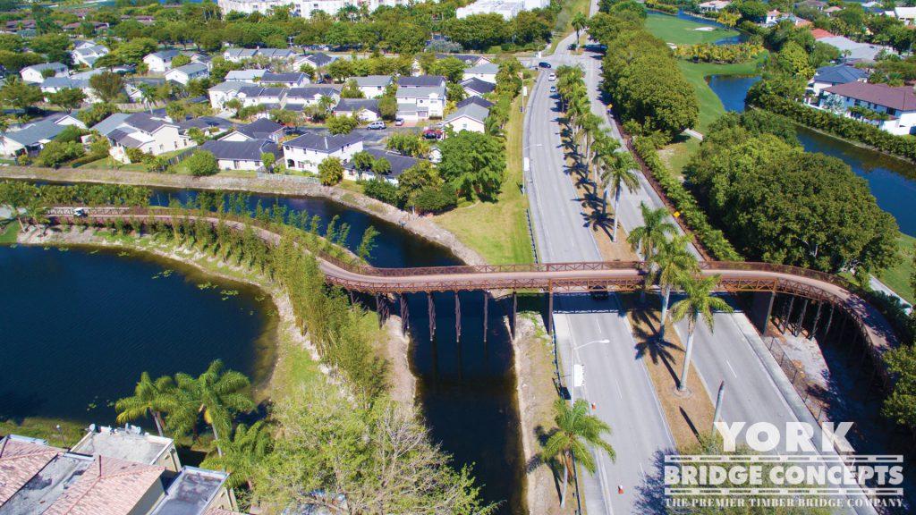 Trump Doral Golf Club Golf Cart Bridge – Doral, FL   York Bridge Concepts - Timber Bridge Builders