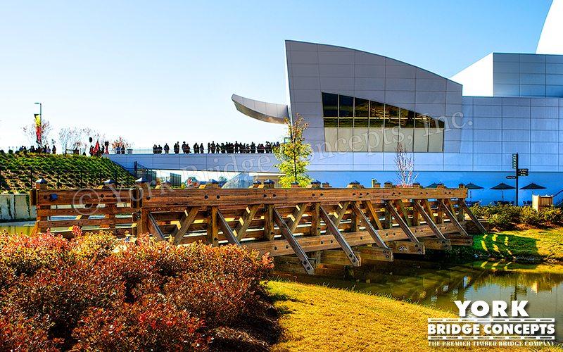 Discovery Park of America Pedestrian Bridges – Union City, TN | York Bridge Concepts - Timber Bridge Builders