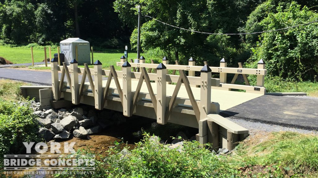Park School of Baltimore Vehicular Bridge – Baltimore, MD | York Bridge Concepts - Timber Bridge Builders