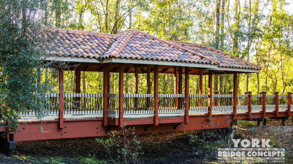 Sienna Village Covered Boardwalk – Lutz, FL | York Bridge Concepts -Timber Bridge Builders