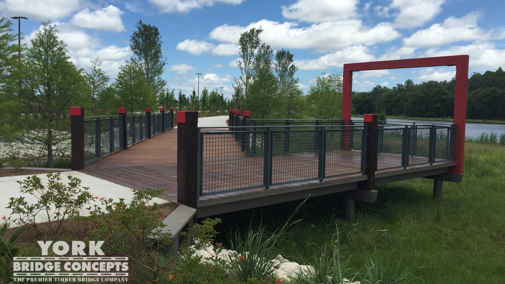 Starkey Ranch Pedestrian Bridges – Odessa, FL | York Bridge Concepts - Timber Bridge Builders