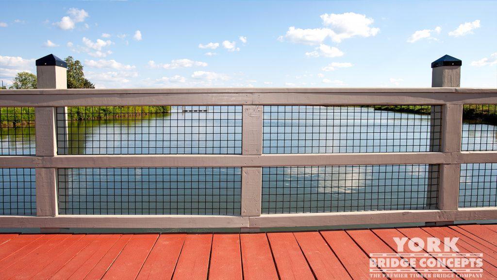 Tennessee Valley Authority Pedestrian Bridge – Harriman, TN | York Bridge Concepts -Timber Bridge Builders