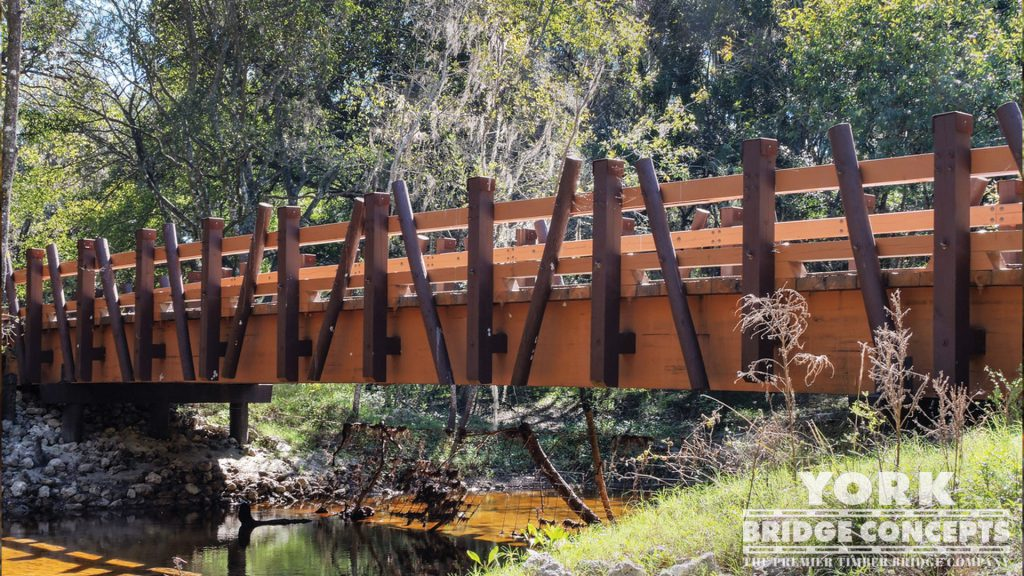 Cone Ranch Vehicular Bridges – Plant City, FL | York Bridge Concepts - Timber Bridge Builders