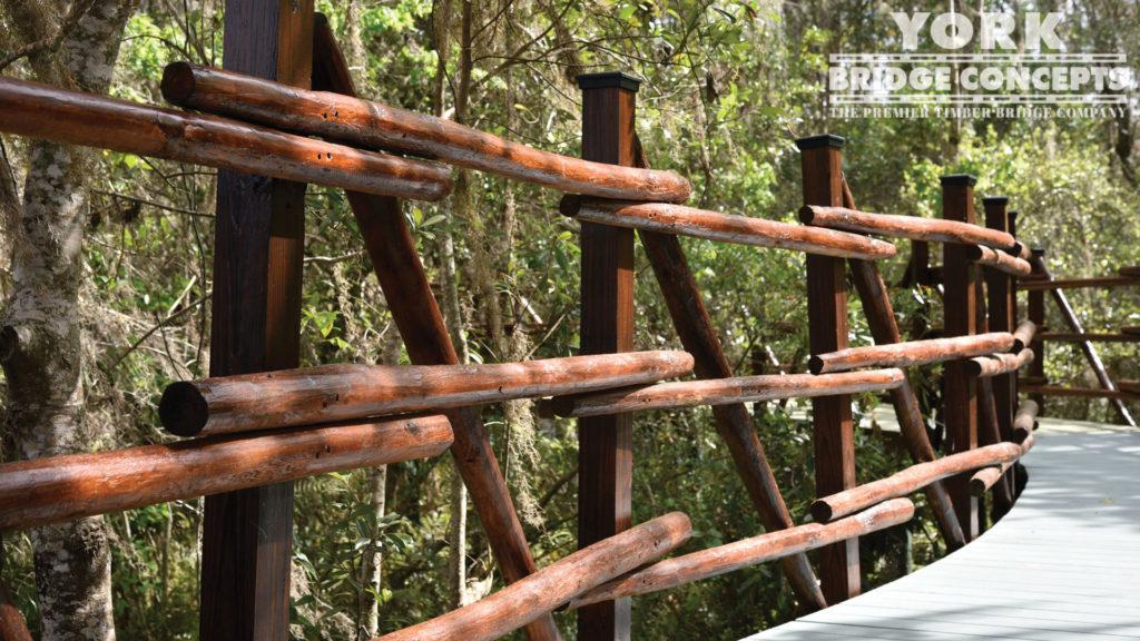 We build on site all timber bridge components | York Bridge Concepts