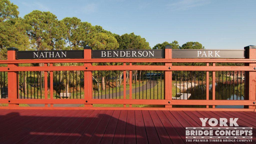 Nathan Benderson Park Pedestrian Bridges - Sarasota, FL | York Bridge Concepts - Timber Bridge Builders