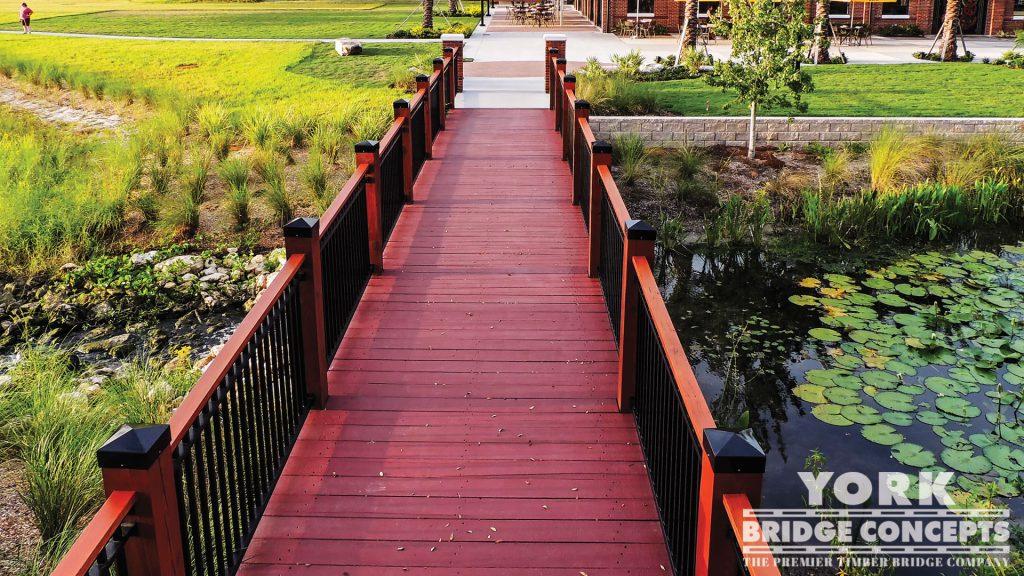 Water Works Park Pedestrian Bridges – Tampa, FL | York Bridge Concepts - Timber Bridge Builders