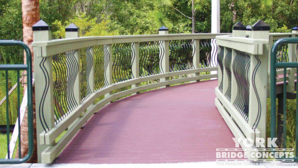 Pasco-Hernando State College Pedestrian Bridge – Wesley Chapel, FL | York Bridge Concepts - Timber Bridge Builders