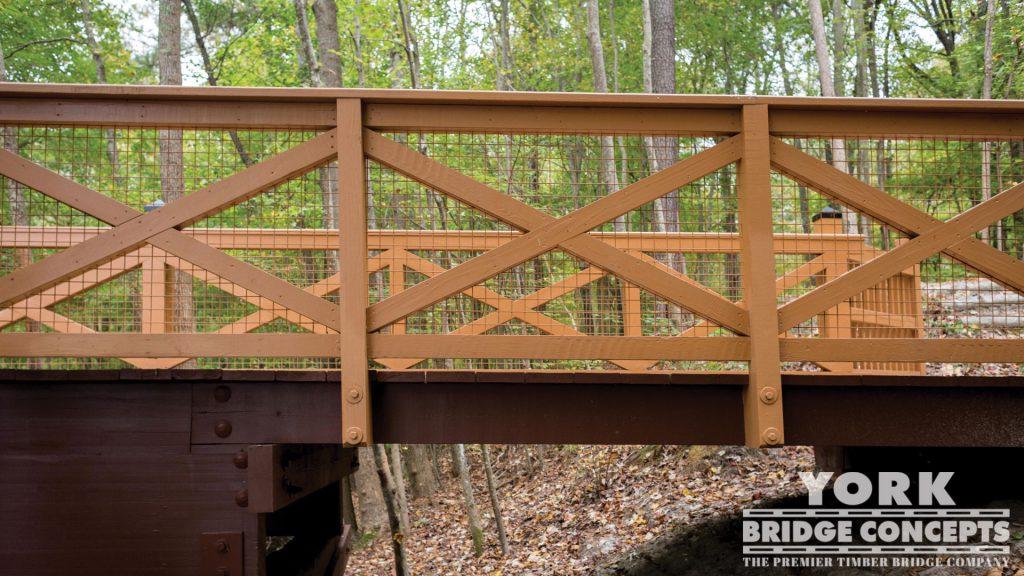 Northwest River Park Pedestrian Bridge – Chesapeake, VA | York Bridge Concepts - Timber Bridge Builders