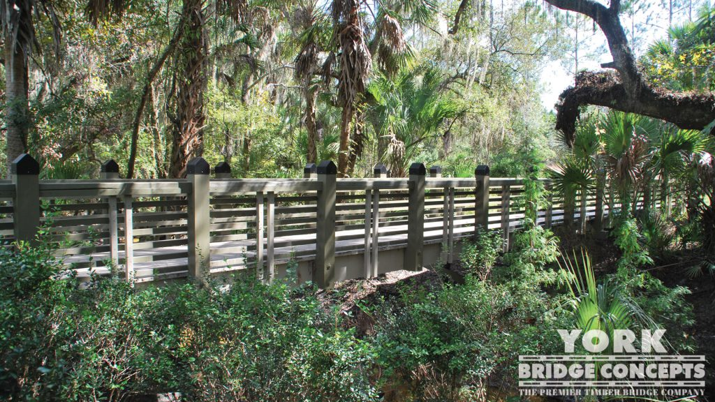 Alafia Creek Trail Pedestrian Bridge – Lithia, FL | York Bridge Concepts -Timber Bridge Builders