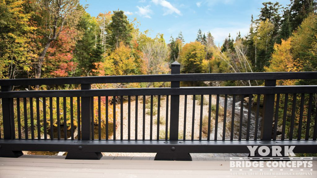 Bretton Woods Pedestrian Bridge - Bretton Woods, NH | York Bridge Concepts - Timber Bridge Builders