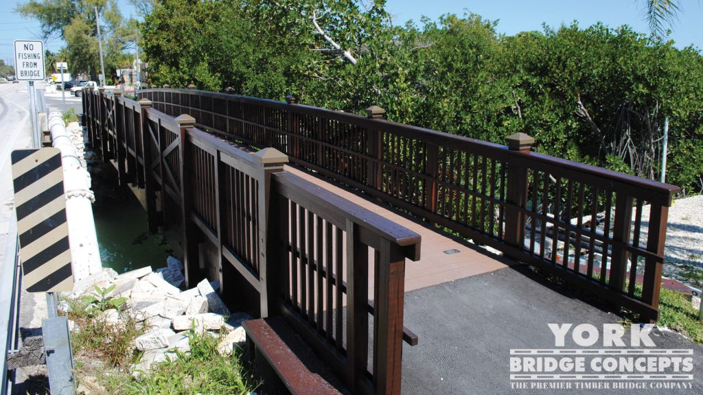 Coco Plum Drive Pedestrian Bridge – Marathon, FL | York Bridge Concepts - Timber Bridge Builders