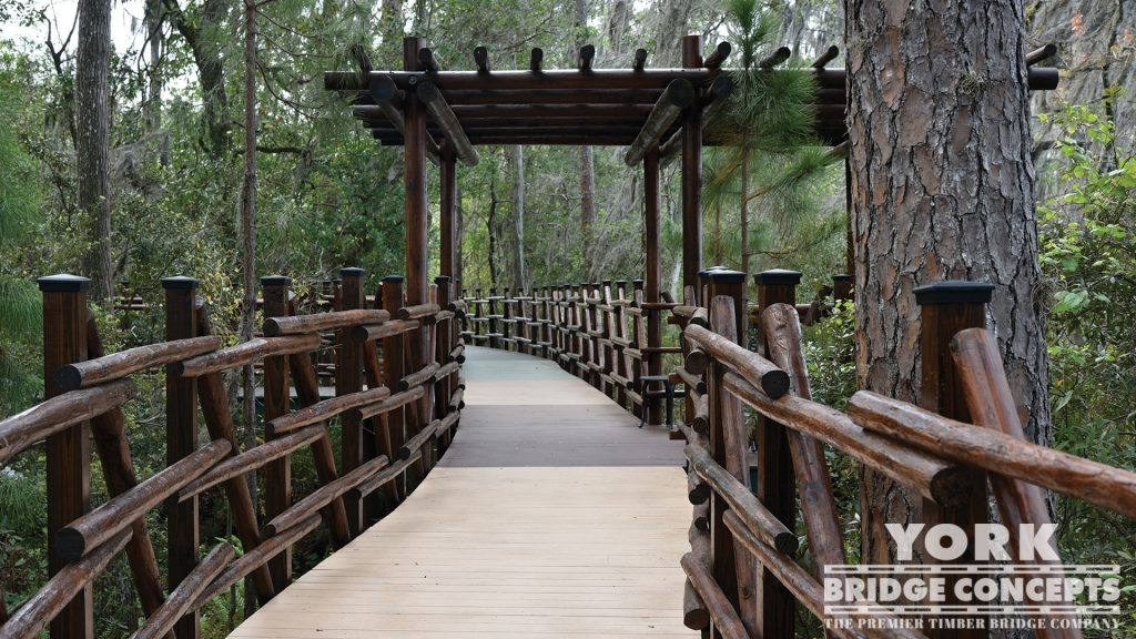 Lakes Edge Way Boardwalk – Odessa, FL | York Bridge Concepts - Timber Bridge Builders