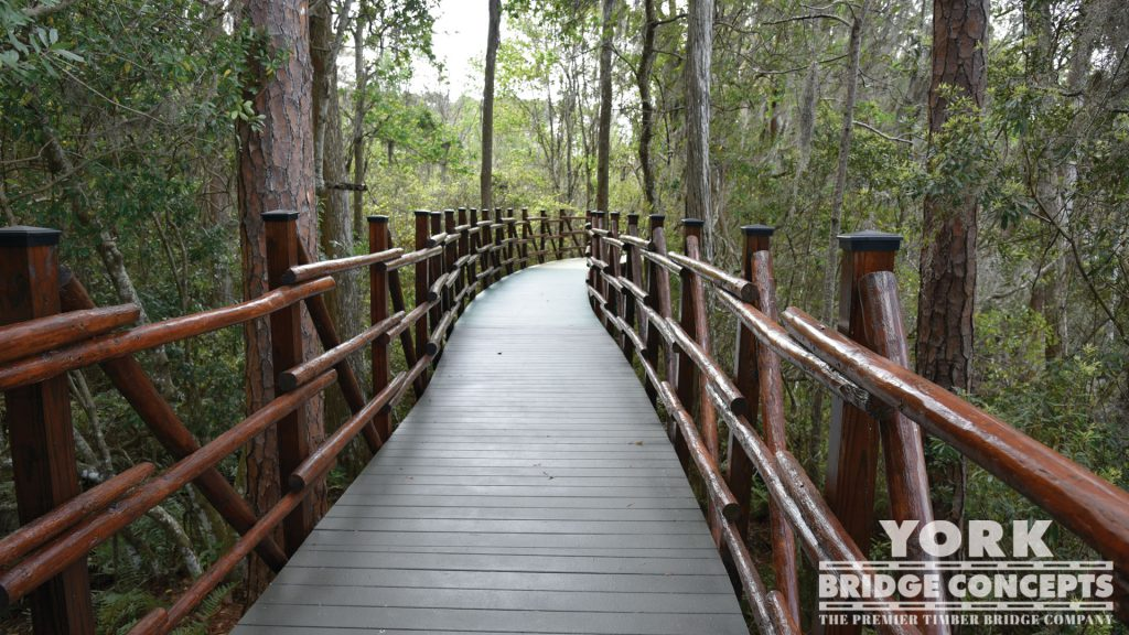 Lakes Edge Way Boardwalk – Odessa, FL | York Bridge Concepts - Timber Bridge Builders