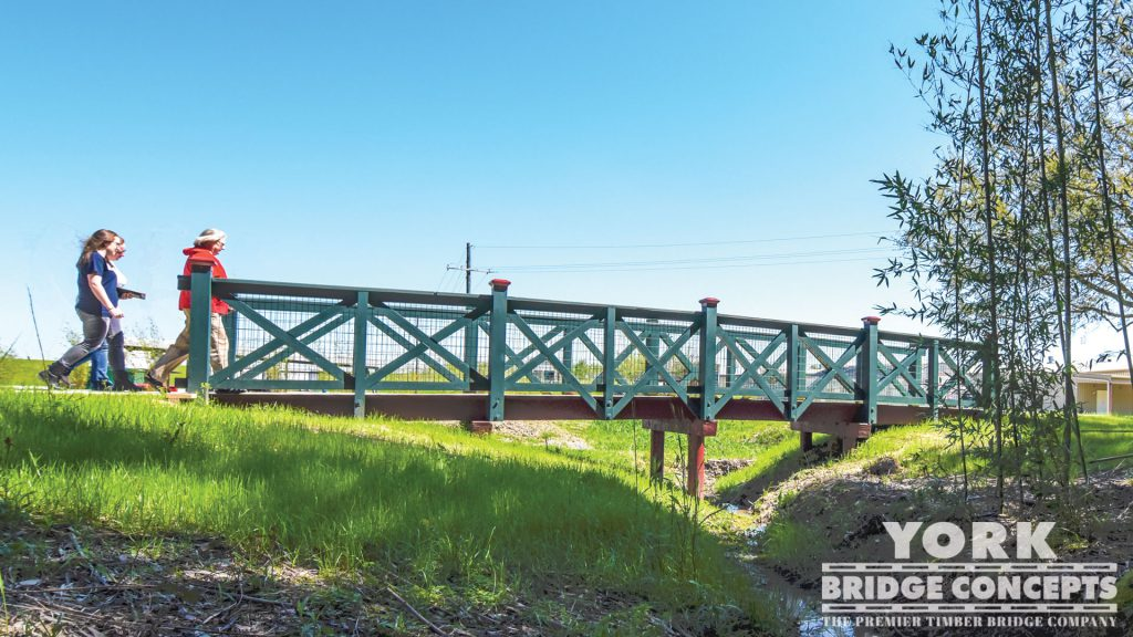 Tabasco Visitor Center Pedestrian Bridge – Avery Island, LA | York Bridge Concepts - Timber Bridge Builders