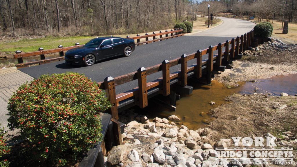Woodland Creek Vehicular Bridge – Montgomery, AL | York Bridge Concepts - Timber Bridge Builders