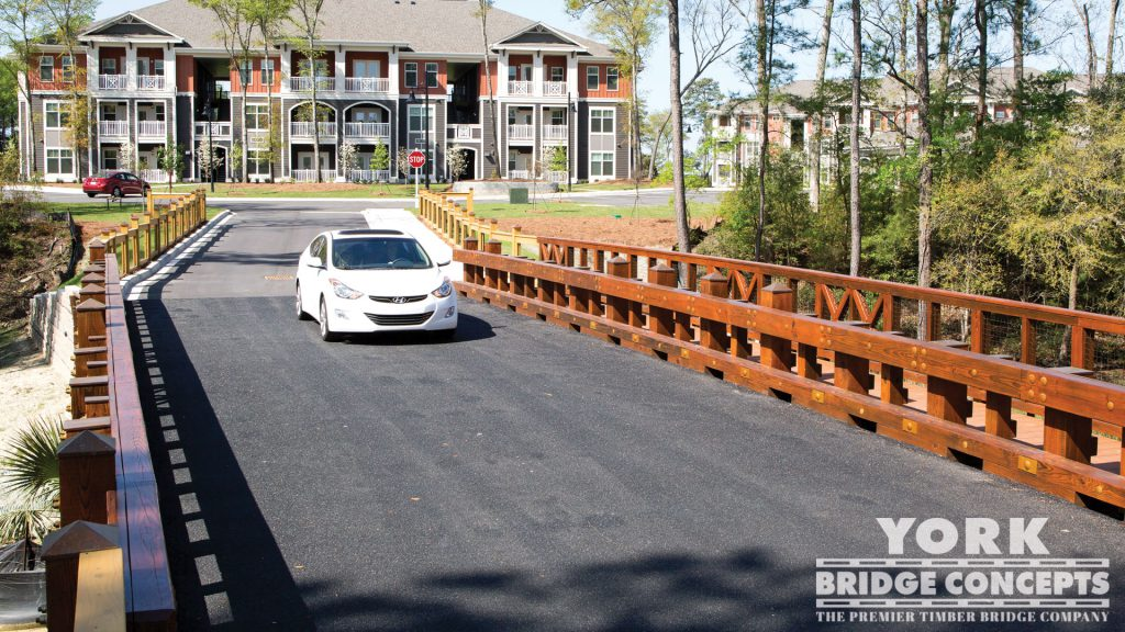 Cooper River Farms Vehicular Bridge - Charleston, SC | York Bridge Concepts - Timber Bridge Builders