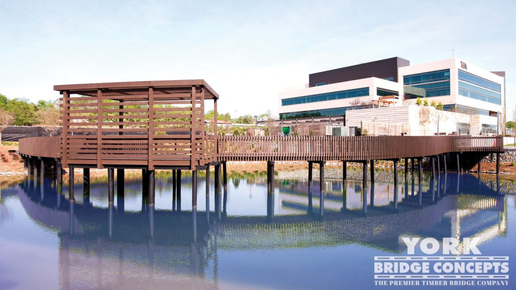 OneC1TY Timber Boardwalk - Nashville, TN | York Bridge Concepts - Timber Bridge Builders