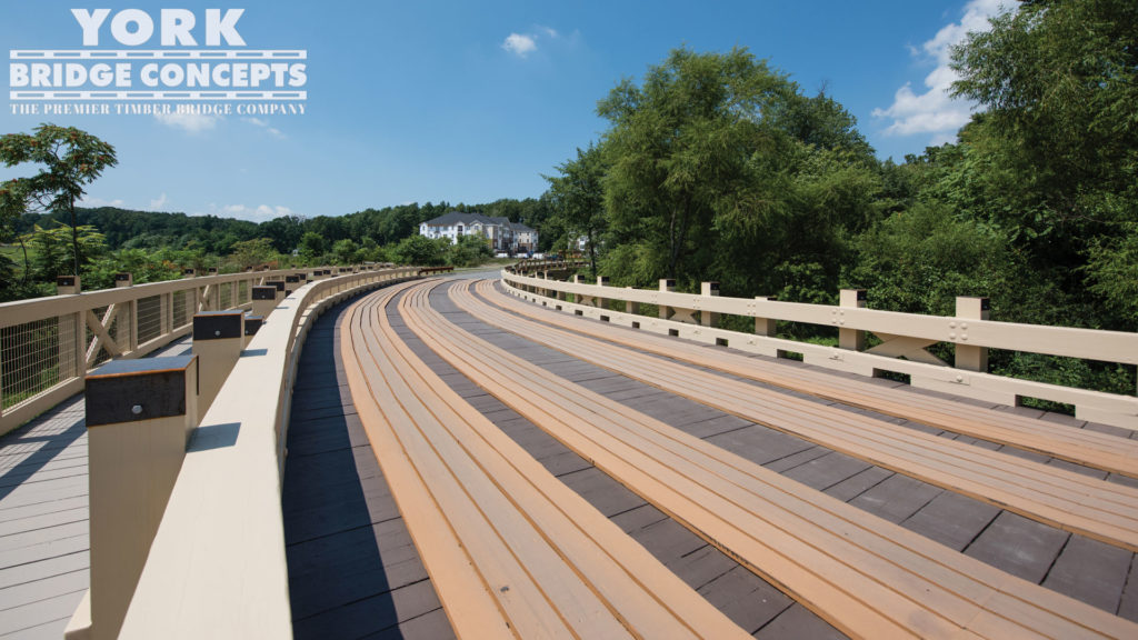Delight Quarry Vehicular Bridge - Reisterstown, MD | York Bridge Concepts - Timber Bridge Builders