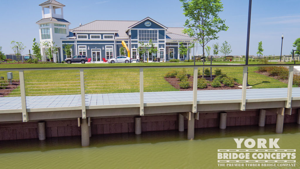 Heritage Shores Timber Boardwalk - Bridgeville, DE | York Bridge Concepts - Timber Bridge Builders