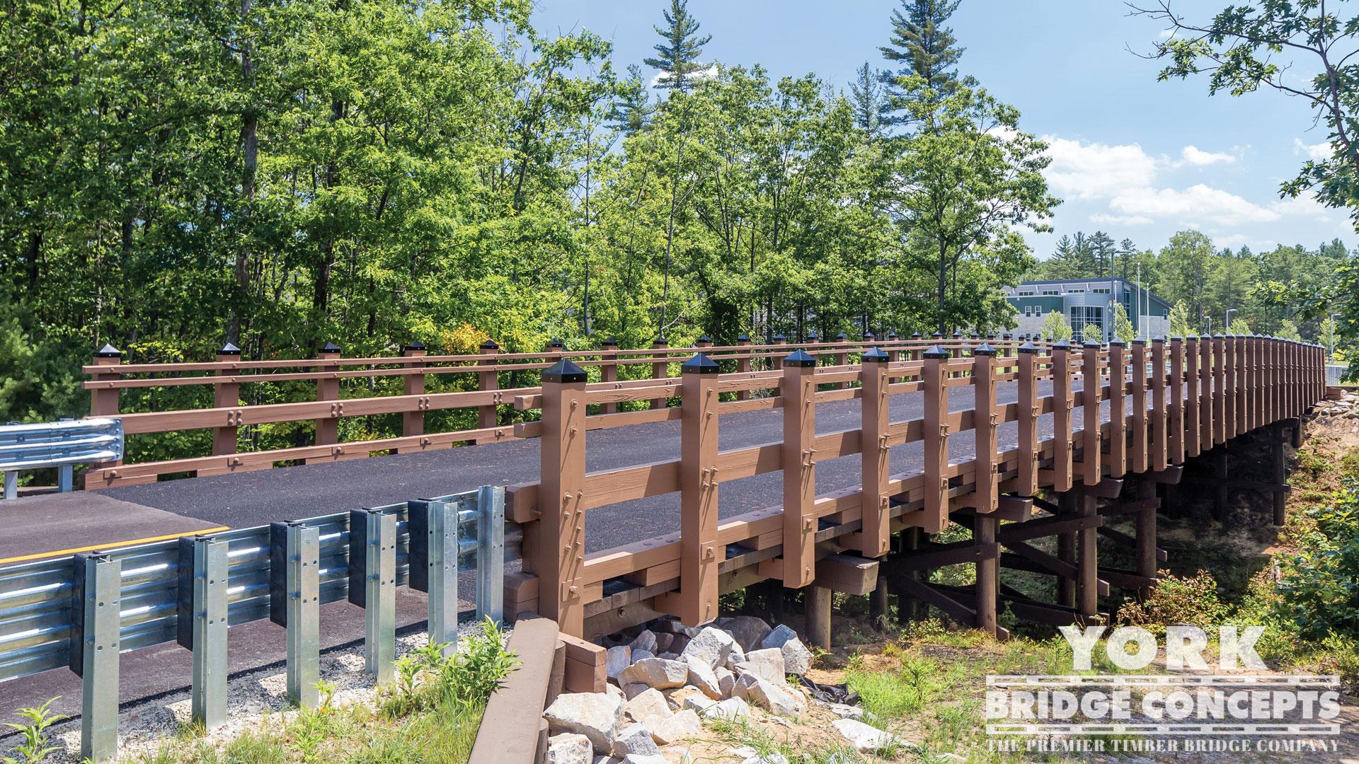 how to build a timber bridge