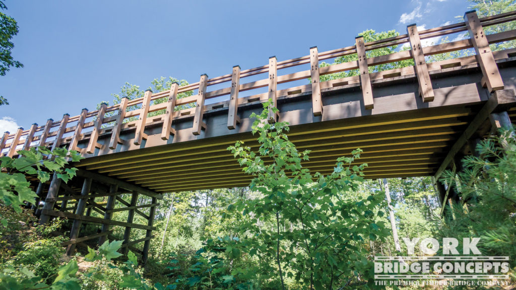 Regional Training Institute Vehicular Bridge - Pembroke, NH | York Bridge Concepts - Timber Bridge Builders