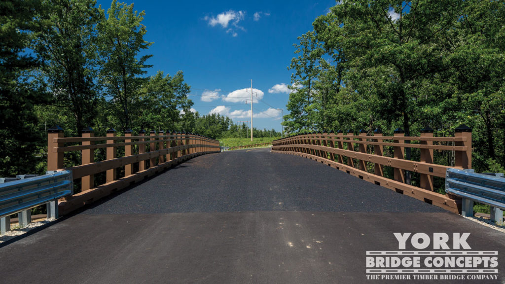 Regional Training Institute Vehicular Bridge - Pembroke, NH | York Bridge Concepts - Timber Bridge Builders