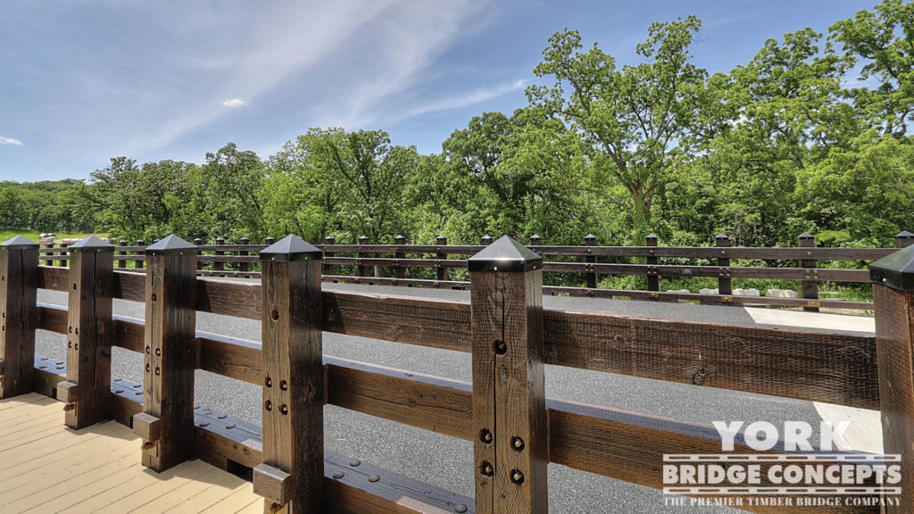 Loch Lloyd Vehicular Bridge - Cass County, MO | York Bridge Concepts - Timber Bridge Builders