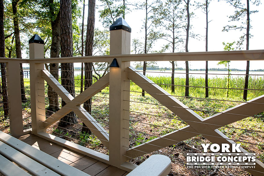 River Lights Boardwalk - Wilmington, NC | York Bridge Concepts - Timber Bridge Builders