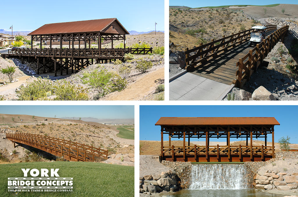 Laughlin Ranch Golf Course Bridges and Cover Vehicular Bridge