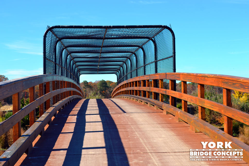 Baywood Greens Golf Cart Bridges - Long Neck, DE | York Bridge Concepts - Timber Bridge Builders