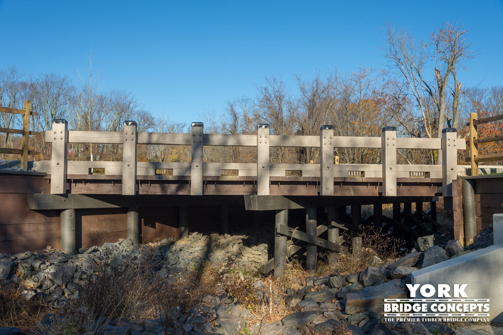 The Preserve at Worcester Vehicular Bridges - Worcester, PA | York Bridge Concepts - Timber Bridge Builders