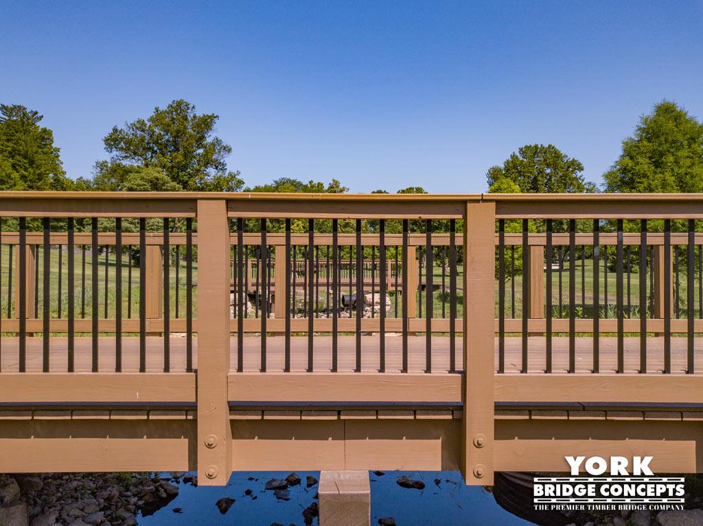 Westborough Country Club Golf Cart Bridges - St. Louis, MO | York Bridge Concepts - Timber Bridge Builders