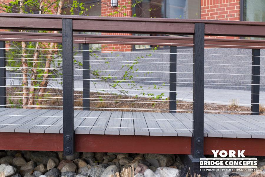 Hudson Tea Timber Boardwalk - Hoboken, NJ | York Bridge Concepts - Timber Bridge Builders