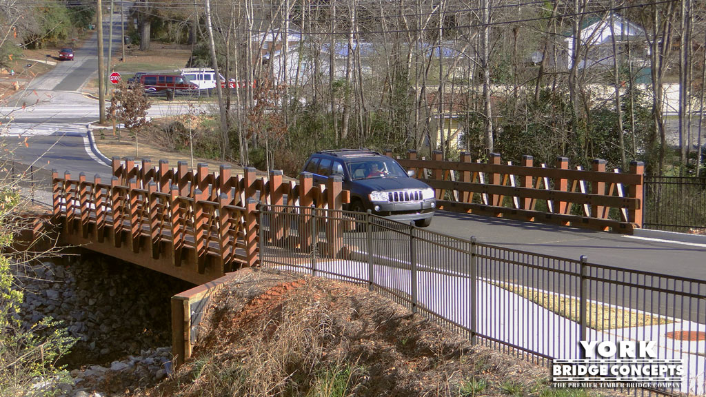 Aspen Heights Timber Vehicular Bridge - Atlanta, GA