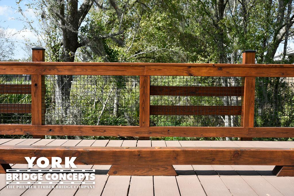 Crosstown Walk Apartments Golf Cart Bridge - Brandon, FL | York Bridge Concepts