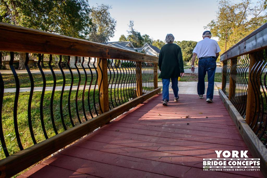 Hynson Bayou Trail Pedestrian Bridges - Alexandria, LA