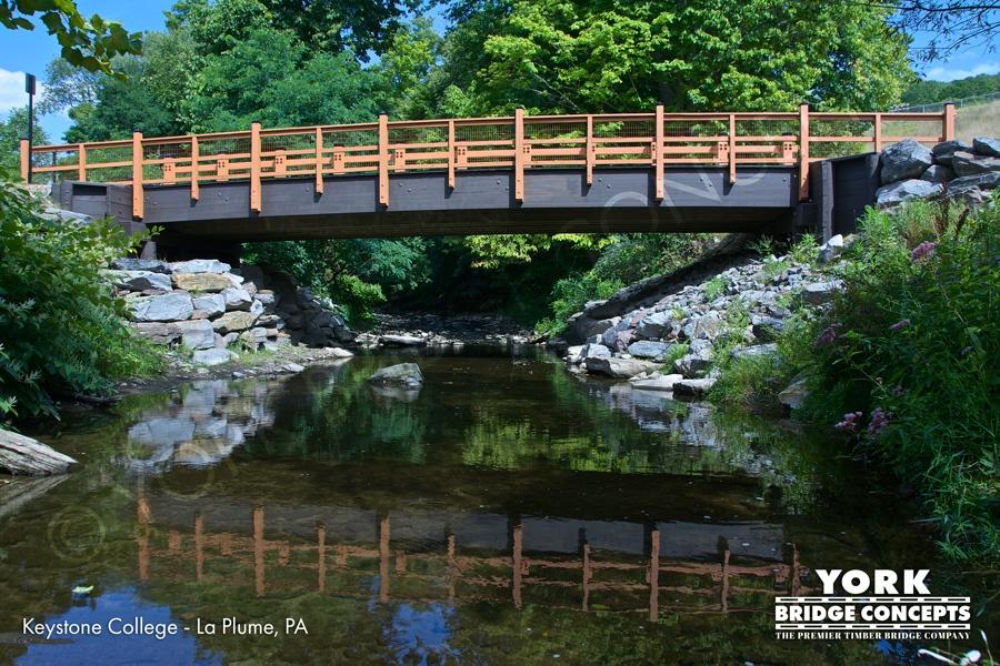 Keystone College Vehicular Bridge, La Plume, PA
