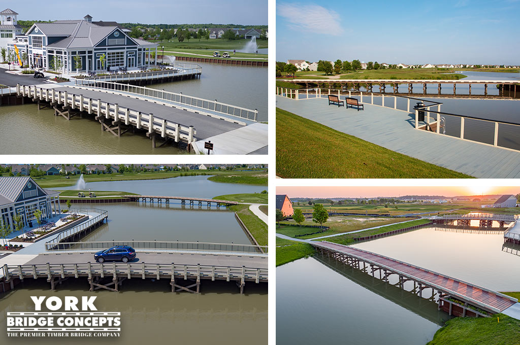 Heritage Shores Vehicular Bridge, Golf Course Bridges, Boardwalk - Bridgeville, DE