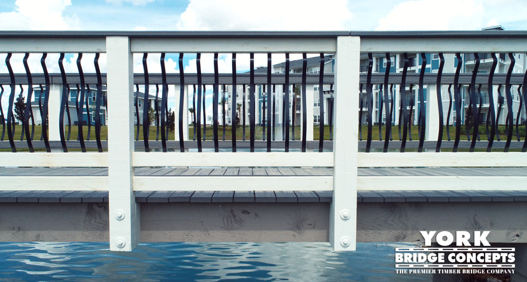 Champion's Vue Apartment Timber Pedestrian Bridge Davenport, FL