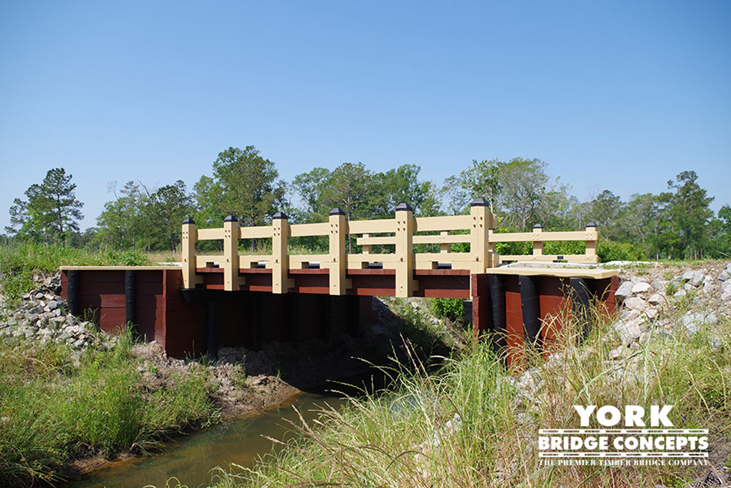 Meadowlands Timber Vehicular Bridge Construction - Calabash, NC