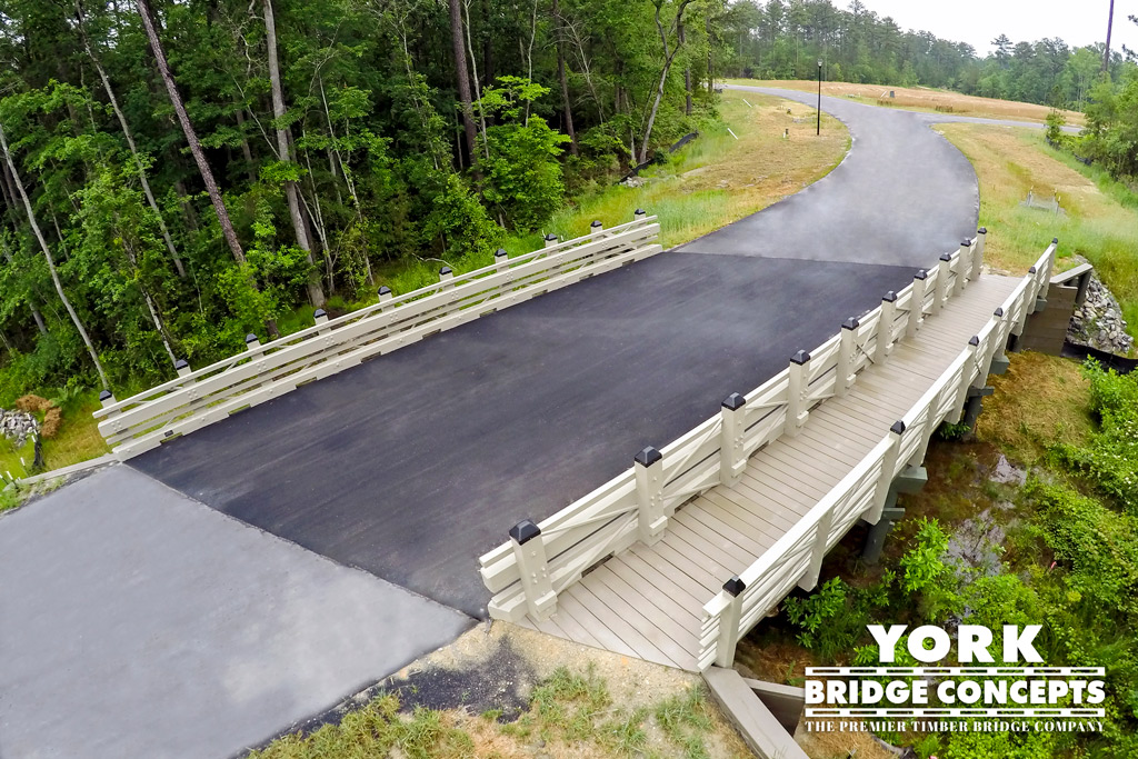 The Carolinas Timber Vehicular Bridge Construction | York Bridge Concepts