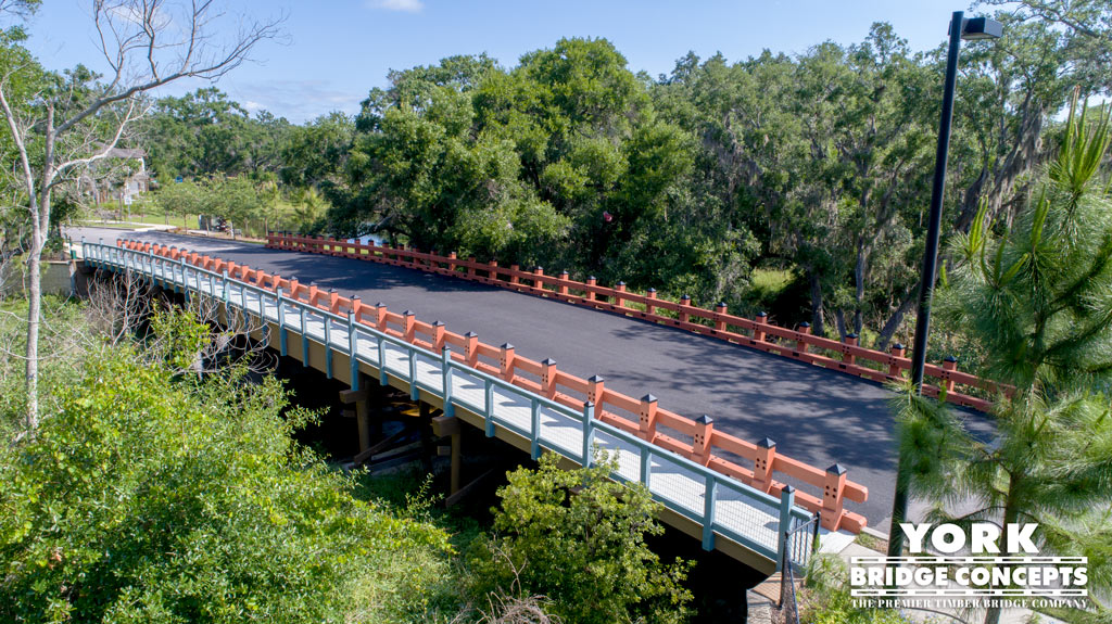 Brookhaven at Citrus Park Vehicular Bridges – Tampa, FL | York Bridge Concepts - Timber Bridge Builders