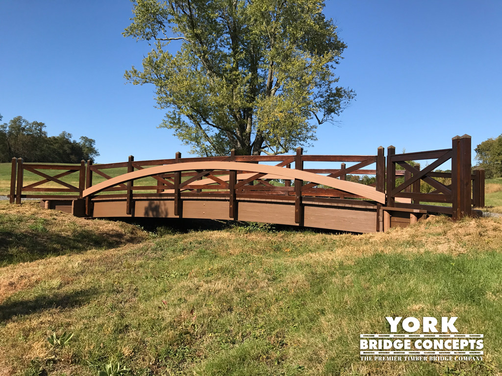 Timber Equestrian Wood Bridges - Coatsville, PA | York Bridge Concepts